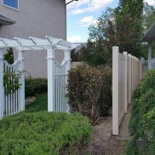 Velocity Vinyl Fence Company in Regina and Saskatoon - Contact us today for a free Vinyl Fence installation quote.