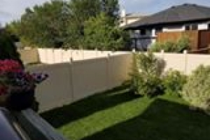 Another Vinyl Fence job done right!